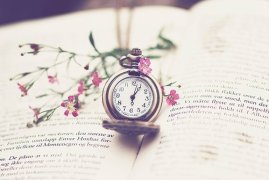 beautiful-book-clock-flower-love-Favim.com-289088