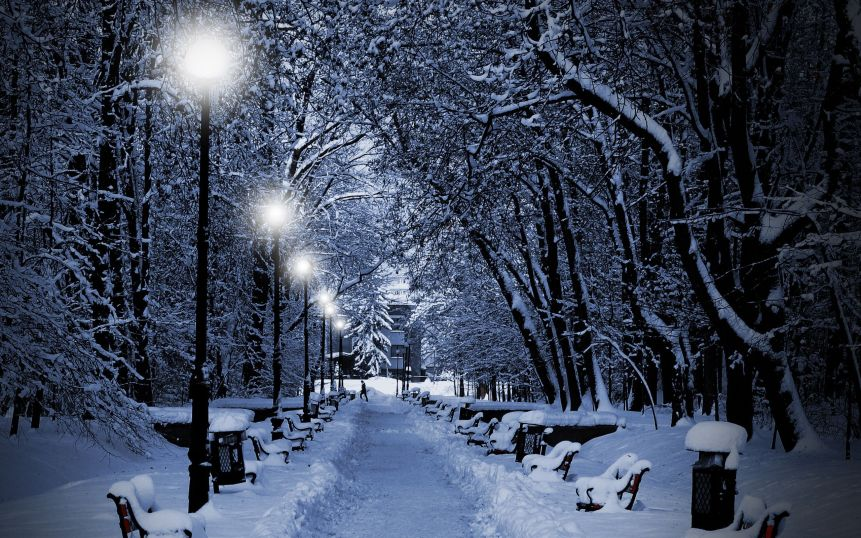 winter-evening-on-the-street-wallpapers-and-images-snowy-night-wallpaper-snow-desktop-hd-scenes-free-pictures-iphone-themes