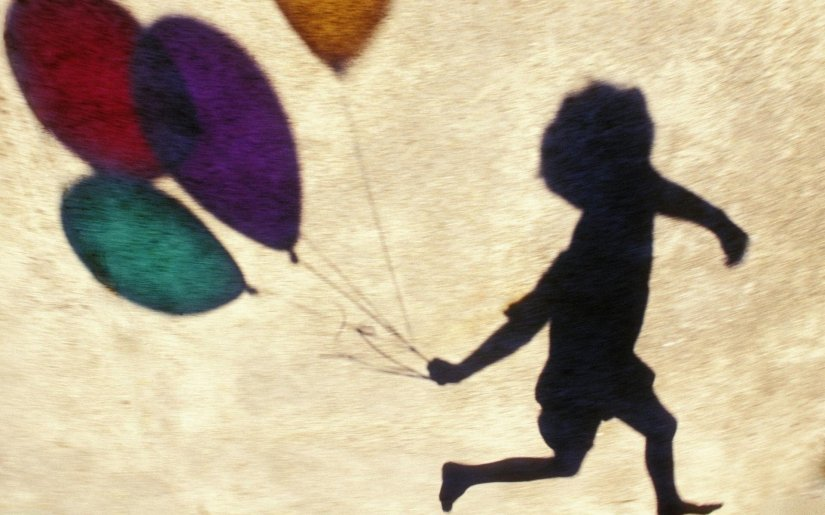shadow-boys-balloons-happiness-wallpaper